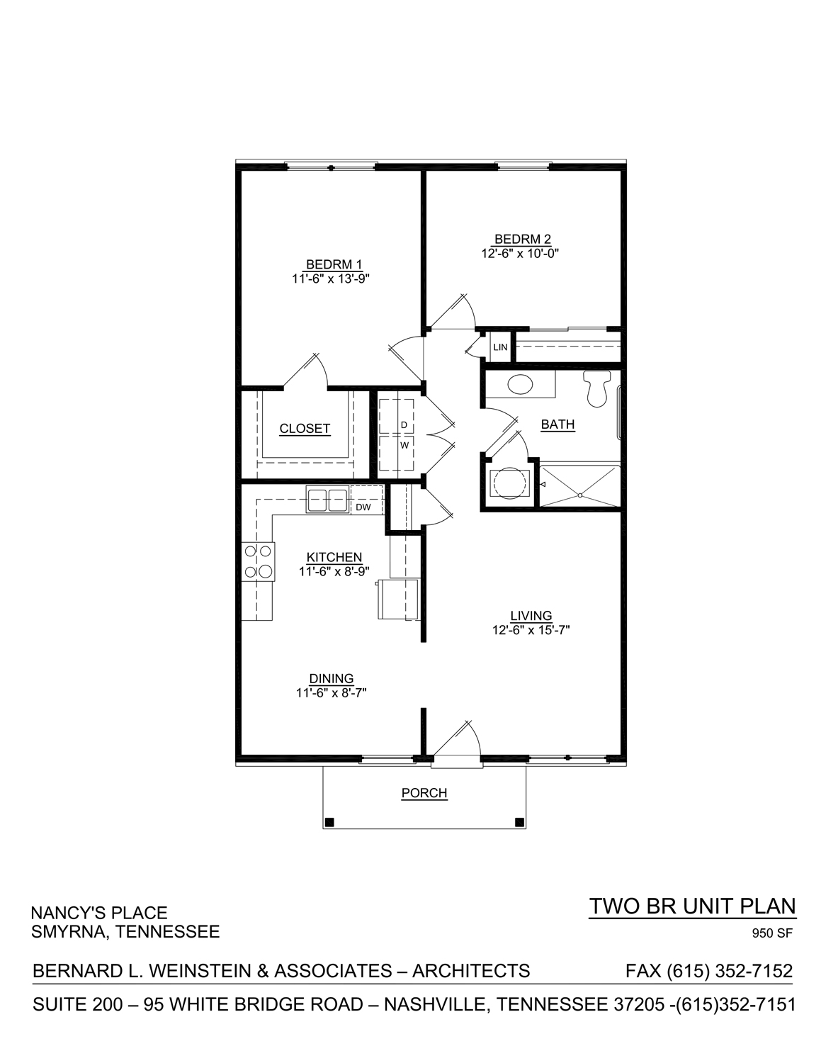 two bedroom nancy's place layout